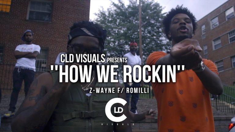 Z-Wayne ft. Romilli – How We Rockin (Video)