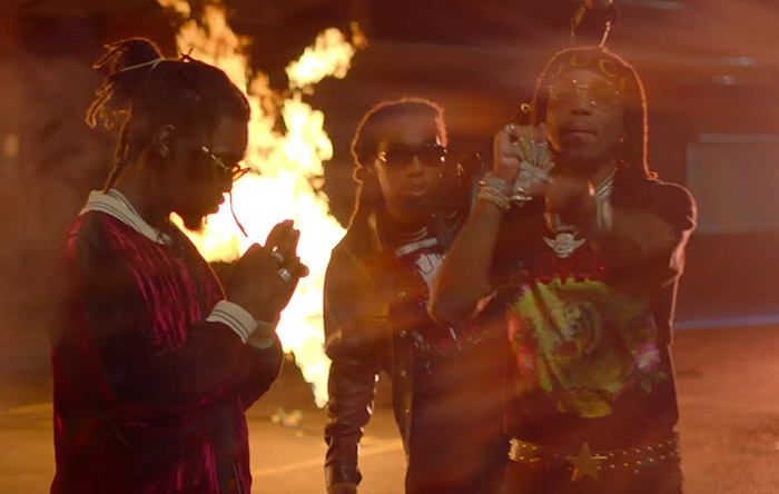 Migos – Too Hotty (Video)