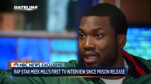 WATCH: Meek Mill on 'NBC Nightly News'