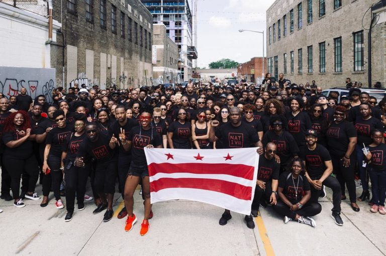 """D.C. Natives Come Together for Photoshoot Following Washingtonian's Failed """"I'm Not A Tourist"""" Campaign"""