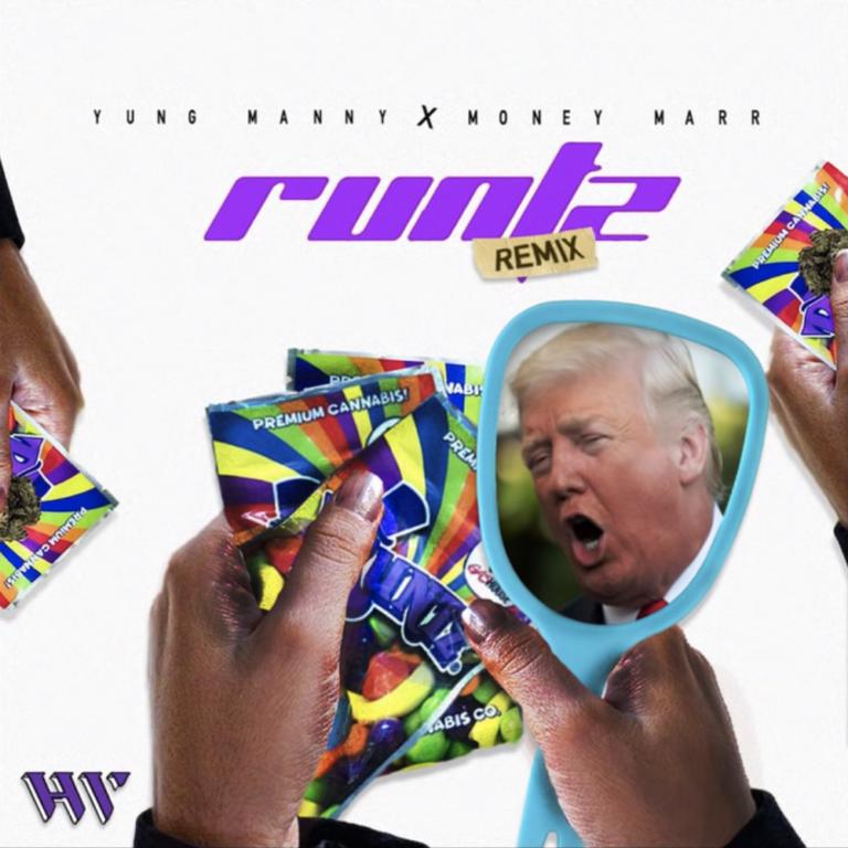 "YungManny Feat. MoneyMarr – ""Runtz"" (Remix)"