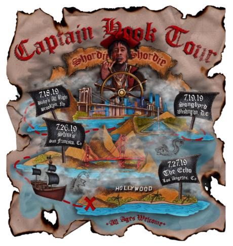 """Shordie Shordie Announces Captain Hook Tour; """"Voice Mail"""" (Video)"""