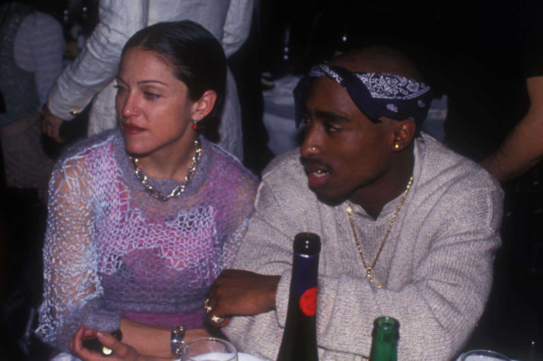 Tupac Shakur's Prison Love Letter to Madonna To Be Sold At An Auction