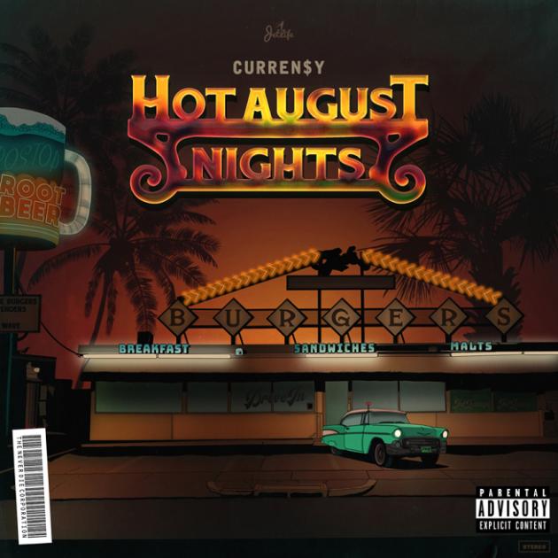 Curren$y – 'Hot August Nights' (Stream)