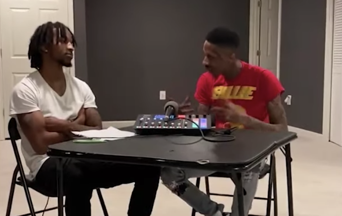 Ant Glizzy – The Hot Seat Charlotte Interview (Video)