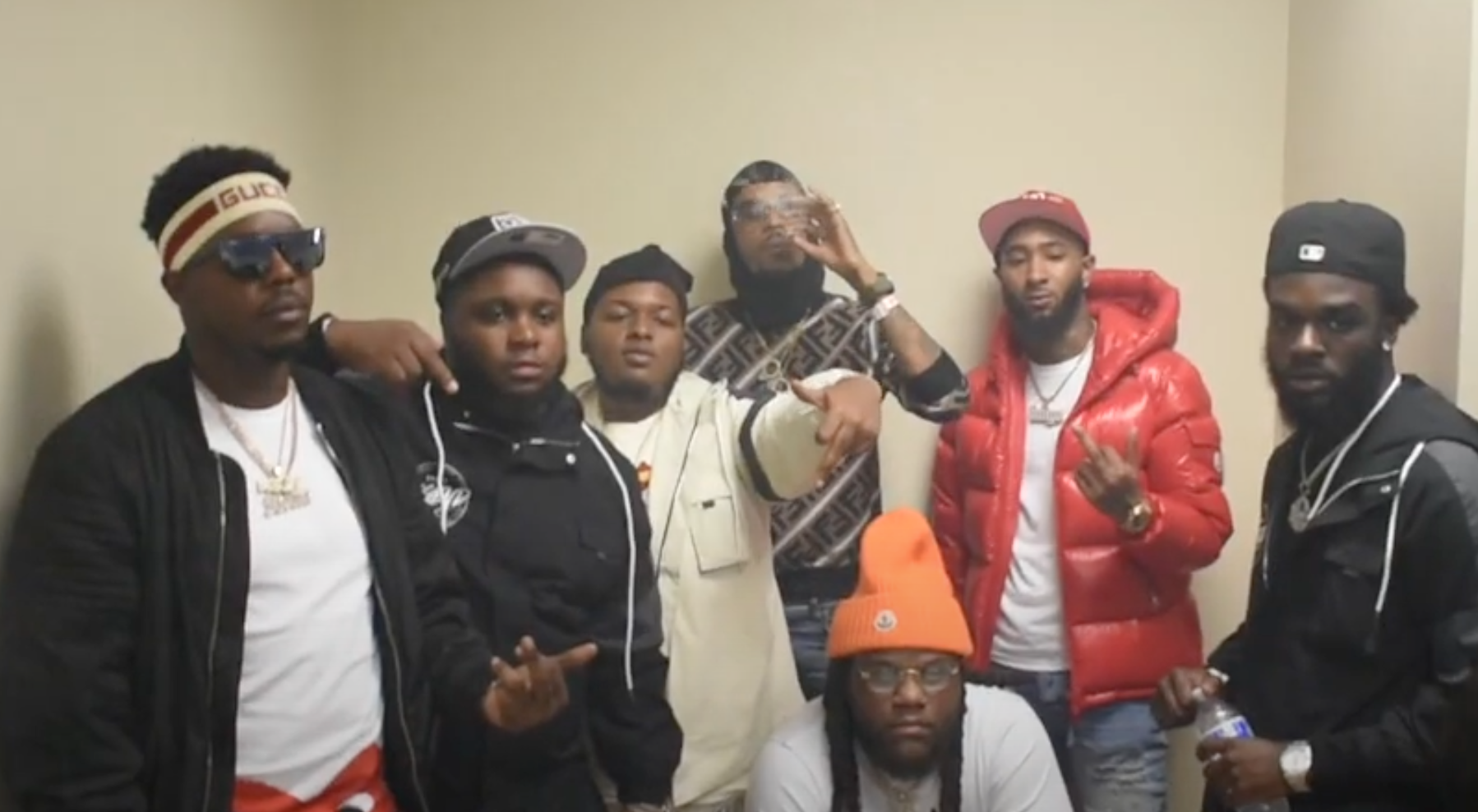 Lil Durk(, Fat Trel, and Young Moe Perform In D.C. (Howard U. Homecoming)